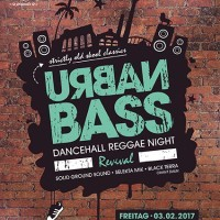 URBAN BASS - Dancehall Reggae Night Revival Vol.2<br><small>striclty old school classics</small>