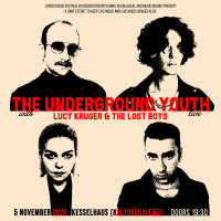 <small><small>Syn�sthesie Festival pr�sentiert</small></small><br>The Underground Youth<br><small>Support: Lucy Kruger & The Lost Boys</small>