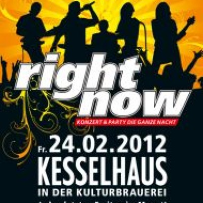 Right Now - Disco Live! Konzert und Party die ganze Nacht!