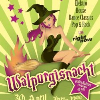 RIGHT NOW - Disco LIVE! zur WALPURGISNACHT